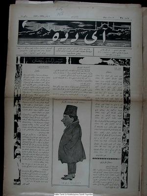 Aydede Gazetesi 30 Nisan 1922 kapağı