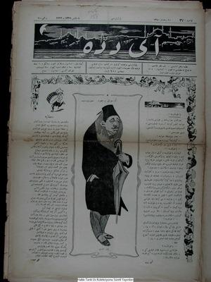 Aydede Gazetesi 7 Mayıs 1922 kapağı
