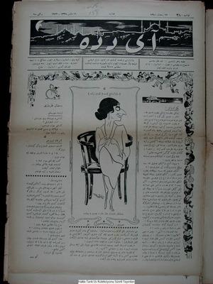Aydede Gazetesi 11 Mayıs 1922 kapağı