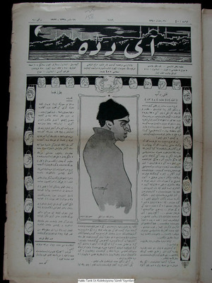 Aydede Gazetesi 18 Mayıs 1922 kapağı