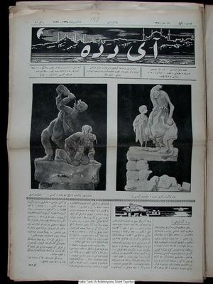 Aydede Gazetesi 9 Ekim 1922 kapağı