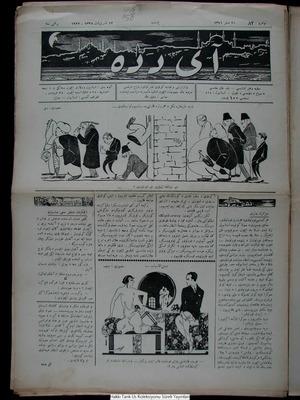 Aydede Gazetesi 12 Ekim 1922 kapağı