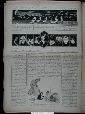 Aydede Gazetesi 19 Ekim 1922 kapağı