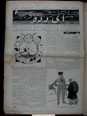 Aydede Gazetesi 23 Ekim 1922 kapağı