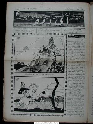 Aydede Gazetesi 30 Ekim 1922 kapağı