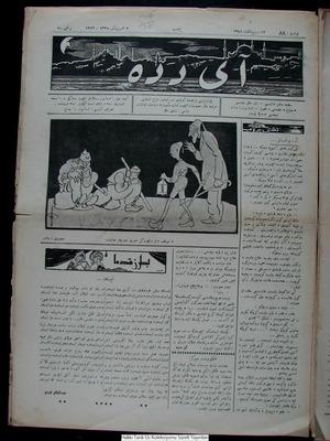 Aydede Gazetesi 3 Kasım 1922 kapağı