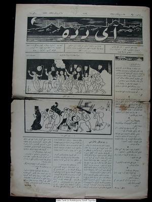 Aydede Gazetesi 11 Kasım 1922 kapağı
