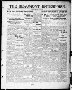 The Beaumont Enterprise Gazetesi August 26, 1904 kapağı