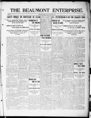 The Beaumont Enterprise Gazetesi September 3, 1904 kapağı