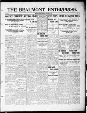 The Beaumont Enterprise Gazetesi September 7, 1904 kapağı