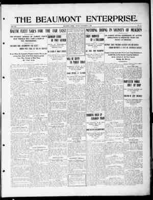 The Beaumont Enterprise Gazetesi September 12, 1904 kapağı