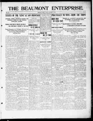 The Beaumont Enterprise Gazetesi September 13, 1904 kapağı