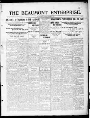 The Beaumont Enterprise Gazetesi September 19, 1904 kapağı
