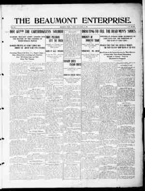 The Beaumont Enterprise Gazetesi September 20, 1904 kapağı