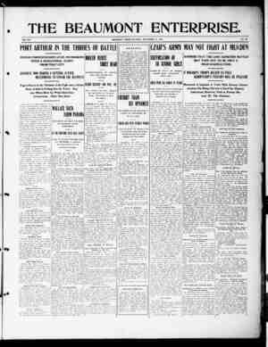 The Beaumont Enterprise Gazetesi September 24, 1904 kapağı