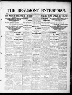 The Beaumont Enterprise Gazetesi September 28, 1904 kapağı