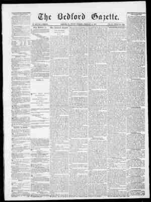 Bedford Gazette sayfa 1