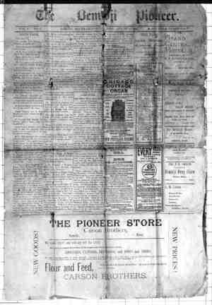 Bemidji Pioneer Gazetesi 6 Ağustos 1896 kapağı