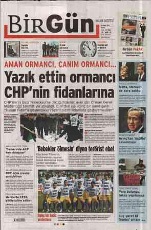 Birgün Gazetesi 19 Şubat 2012 kapağı