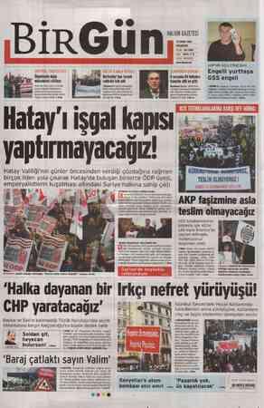 Birgün Gazetesi 27 Şubat 2012 kapağı