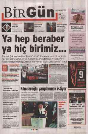 Birgün Gazetesi 4 Mart 2012 kapağı