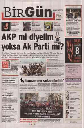 Birgün Gazetesi 5 Mart 2012 kapağı