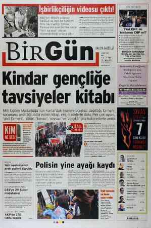 Birgün Gazetesi 6 Mart 2012 kapağı