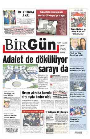 A Nİ 10. YILINDA AKP! AKP iktidarını adlandırmak MUTLU ARSLAN AKP'yi anlamak SONER TORLAK. Merkez-çevre arasında demokrasi