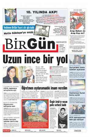 AKP iktidarını adlandırmak Merkez-çevre arasında demokrasi TOYGAR SİNAN BAYKAN- ONUR YILDIZ. Rejim dönüşümünün sınıfsal...