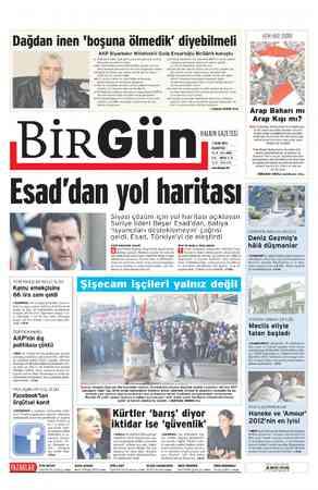 """YENİ YAZI DİZİSİ Dağdan inen 'boşuna ölmedik"""" diyebilmeli AKP Diyarbakır Milletvekili Galip Ensarioğlu BirGün'e konuştu..."""
