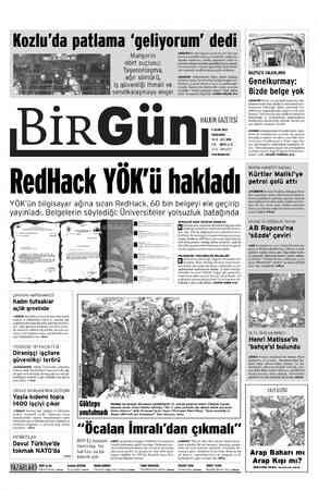 Kozlu'da patlama 'geliyorum' dedi a 15 LU İVENLİĞİ BİRGün Mahşerin dört suçlusu: Taşeronlaşma, ağır sömürü, iş güvenliği...