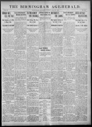 Birmingham Age Herald Gazetesi 27 Mayıs 1902 kapağı
