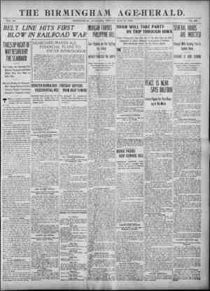 Birmingham Age Herald Gazetesi 30 Mayıs 1902 kapağı