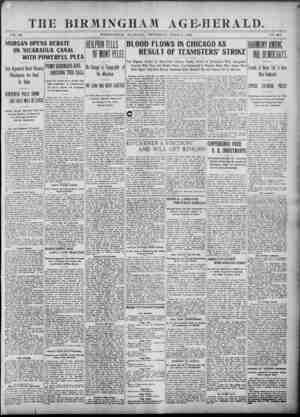 Birmingham Age Herald Gazetesi 5 Haziran 1902 kapağı