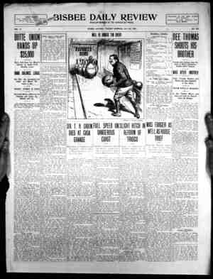 -wst, WW1 tT t DAILY REVIEW REGUUR MEMBER OF THE' ASSOCIATED PRESS. EIGHT PAGES;., l PULL ASSOCIATED PRESSV REPORT- i...