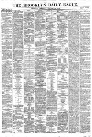 Brooklyn Daily Eagle Gazetesi 13 Ocak 1870 kapağı