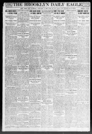 Brooklyn Daily Eagle Gazetesi 3 Ocak 1908 kapağı