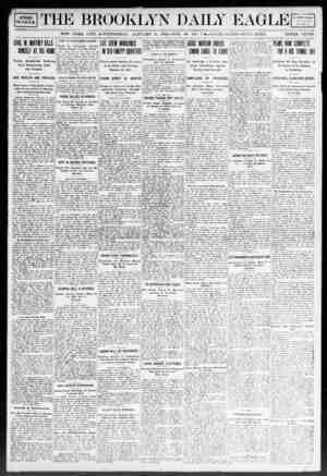 Brooklyn Daily Eagle Gazetesi 8 Ocak 1908 kapağı