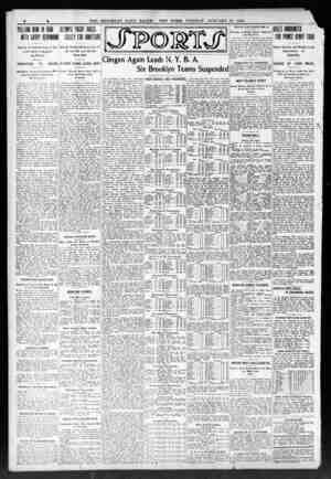4 THE BROOKLYN DAILY EAGLE. NEW YORE. TUESDAY. JANUARY 21'. 1908. Objects to Political Play of Cin- cinati Chief in...