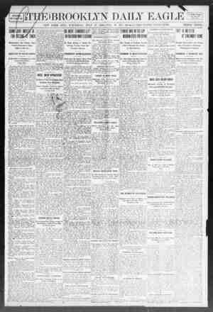 BROOKLYN DAILY EAGLE I Vi Credit Coupon. CUT THIS OUT. NEW YORK CITY. TUESDAY. JULY 28. 1908. VOL. 09. NO. 208. 82 PAGES,