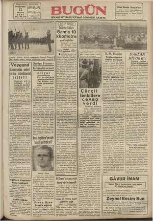 Başmuharriri Ği Telefon Abana Reel de Haziran 1941 th me tı 5 Kur am lm gi ingiliz - e ittifakı zamanında, General...