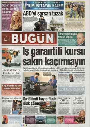 Bugun Gazetesi 19 Şubat 2012 kapağı