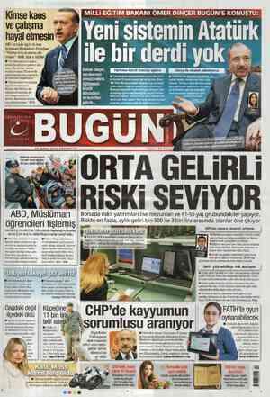 Bugun Gazetesi 20 Şubat 2012 kapağı
