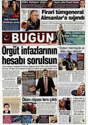 Bugun Gazetesi 5 Mart 2012 kapağı