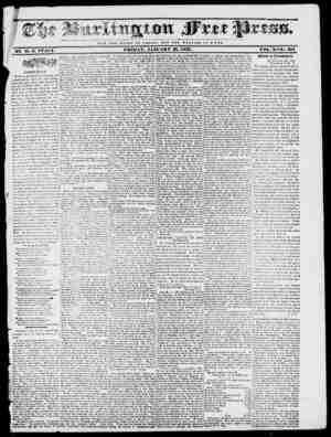 NOT THE O L O It V OF C JR S A U ; HUT THE WELFARE O F ROM E. FUIDAY, JANUARY 27, 1837. VOIi. X No. 501 BY H. B. ST ACT? .