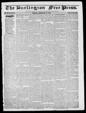 NOT THE GLOItY O P C M S A It ; BUT THE WELFARE O F It O M E. BY M. B. STACY. FRIDAY, FEBRUARY 3, 1837. VOL,. X No. 502...