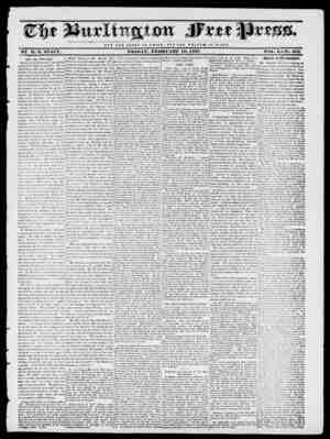 NOT T II K GLORY OF C JE S A It ; HOT THE WELPA HE O F It O M E. BY II. I?. STACY. FRIDAY, FEBRUARY 10, 1837. voir,. X No.