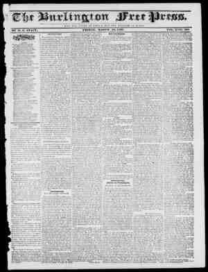 NOT THE GLOltV O V O JE S A Jl ; 1 U T. T II E W E LFAItE O F It O M E. BY Iff. M. STACY. FRIDAY, MARCH 10, 1837. VOL. X JVo.