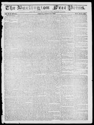 1 -V!l NOT T HE CLOliy OF O Ai SAlt; U V T T II E W E LFA 11 E OF HO ,TI E. BF IT. Si. STACY, FRIDAY, MAE? Cff-ff 1.7, 1837.