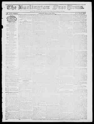 Burlington Free Press sayfa 1